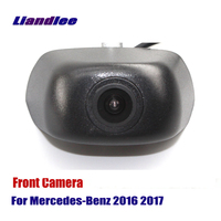 AUTO CAM Car Front View Camera Logo Embedded For Mercedes Benz 2016 2017 ( Not Reverse Rear Parking Camera )