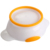 Best Selling Bacia Do Bebê Com Colher Talheres Calor-resistindo Anti Queda Crianças Tigela Suplemento Alimentar Treinamento Da Preservação Do Calor