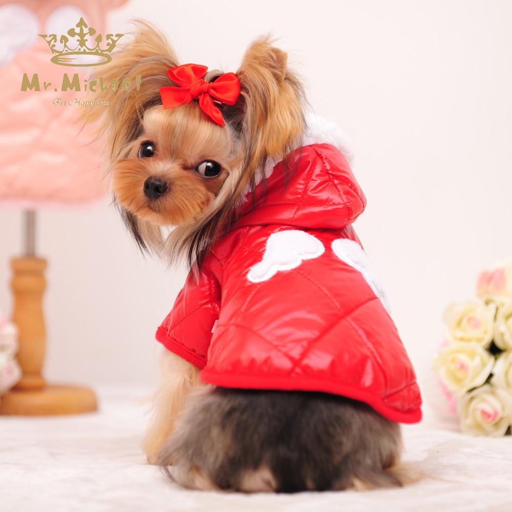 Pet Dog Warm Coat Dog Clothes Winter Overcoat Pet Clothes