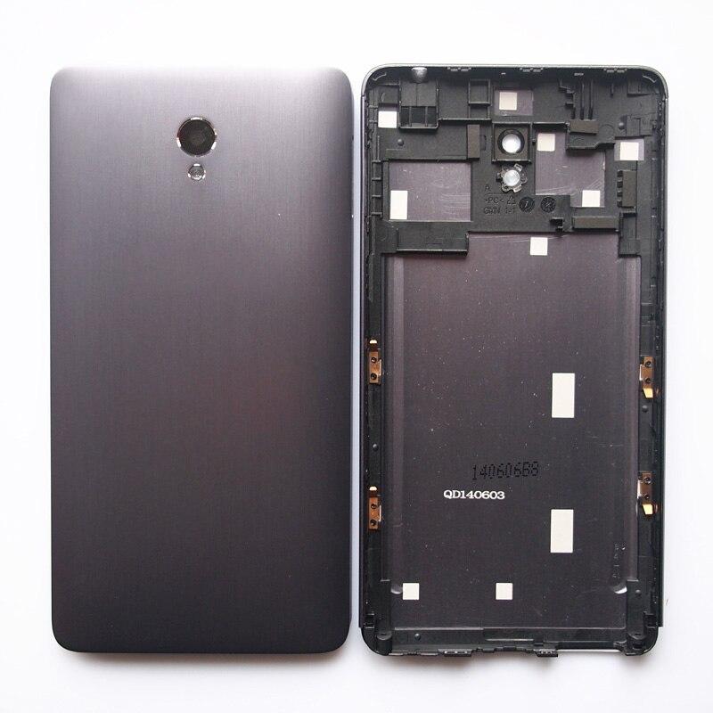 imágenes para BaanSam Nueva Batería de La Contraportada Para Lenovo S860 Caso de Vivienda Con la Lente de la Cámara No Botones de Volumen de Energía