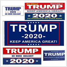 Trump 2020 Flag Double Sided Printed Donald Keep America Great For President USA DropShipping 150x90cm