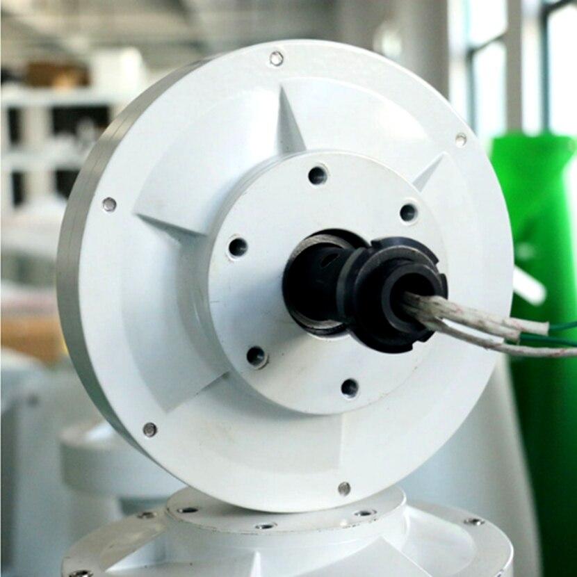 Eixo Vertical Gerador de Energia Eólica Maglev Motor de Baixa rpm 600 W 400 W 12 V 24 V CE Fabricante