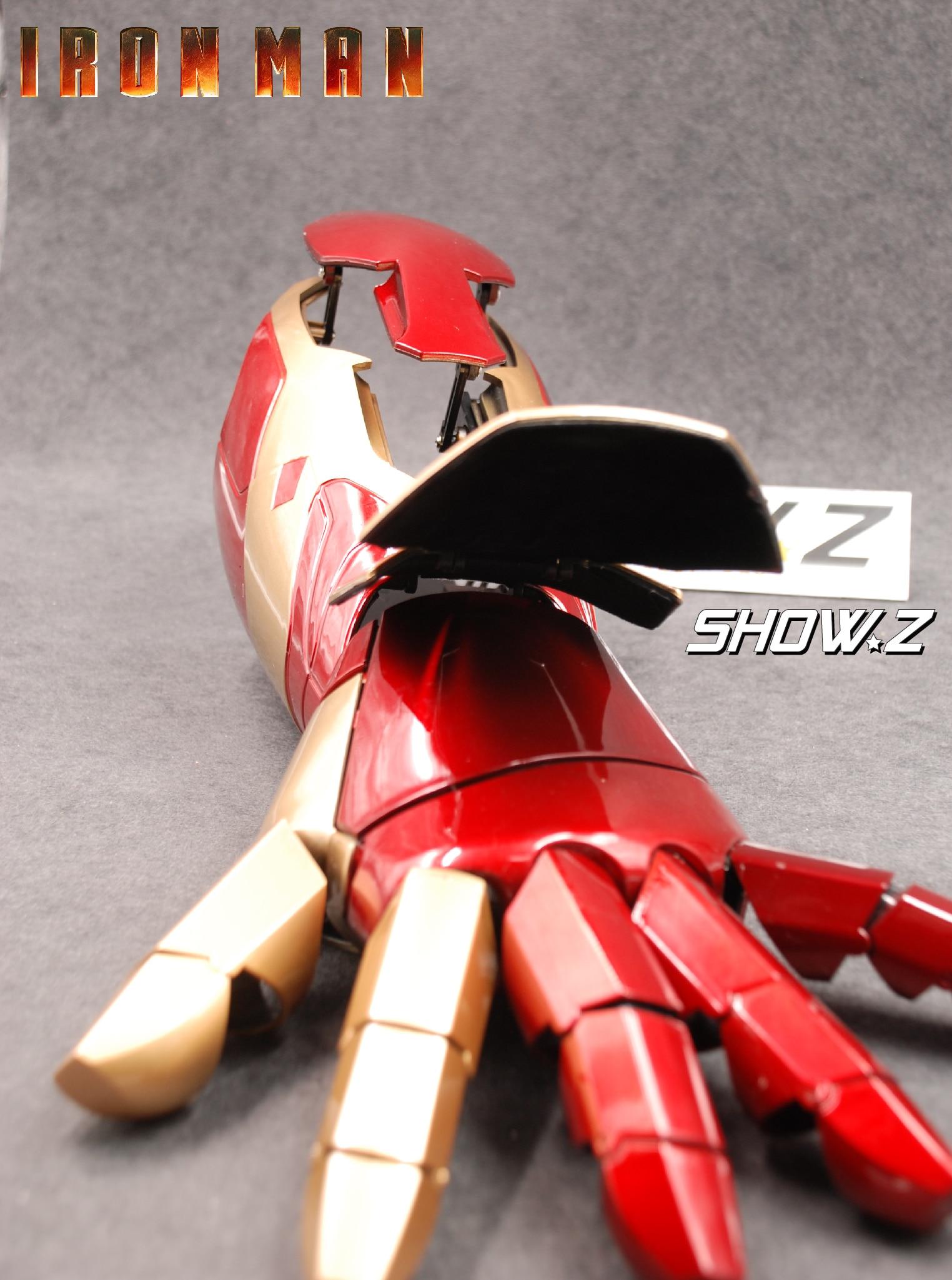Cattoys MK42 Arm Left 1//1 LED Armor Hand IronMan MK42 Wearable Blaster Gauntlet