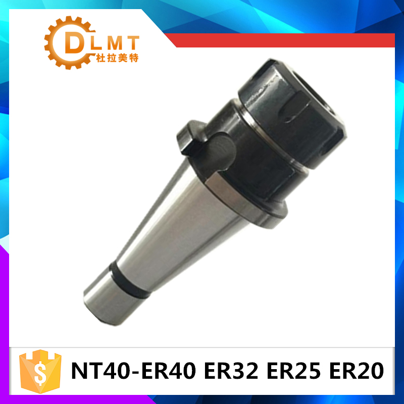 Brand New NT40 NT30 ER16/ ER20/ ER25/ ER32/ ER40 collet chuck tool holder for CNC er20 collet motor shaft chuck er er11 er16 er25 er32 spindle extension rod tool holder cnc milling drill chuck b10 12 18 jt2 6