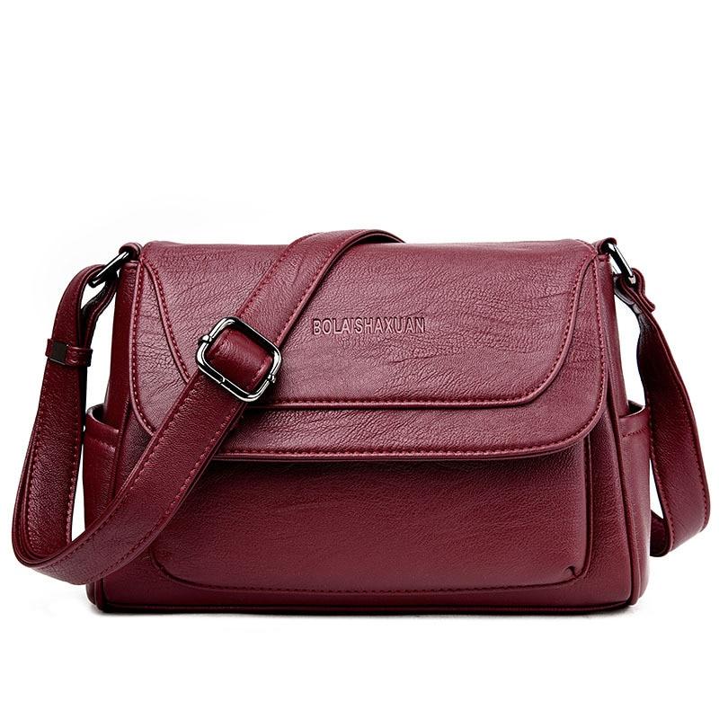 Brilliant Aliexpress.com  Buy New Fashion Bag Inclined Shoulder Ladies Hand Bag Women Leather Handbag Sac ...