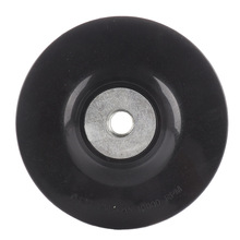 5 inch 125mm Screw M14 Disc Buffing Bonnet Wheel Sander Special Polishing Angle Grinder Chassis Rubber Backing Pad