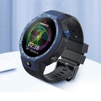 LEM9 5MP камера 4G Вызов gps монитор сердечного ритма спортивный режим умный Браслет 39 дюймов музыка водонепроницаемые часы для мужчин или женщин