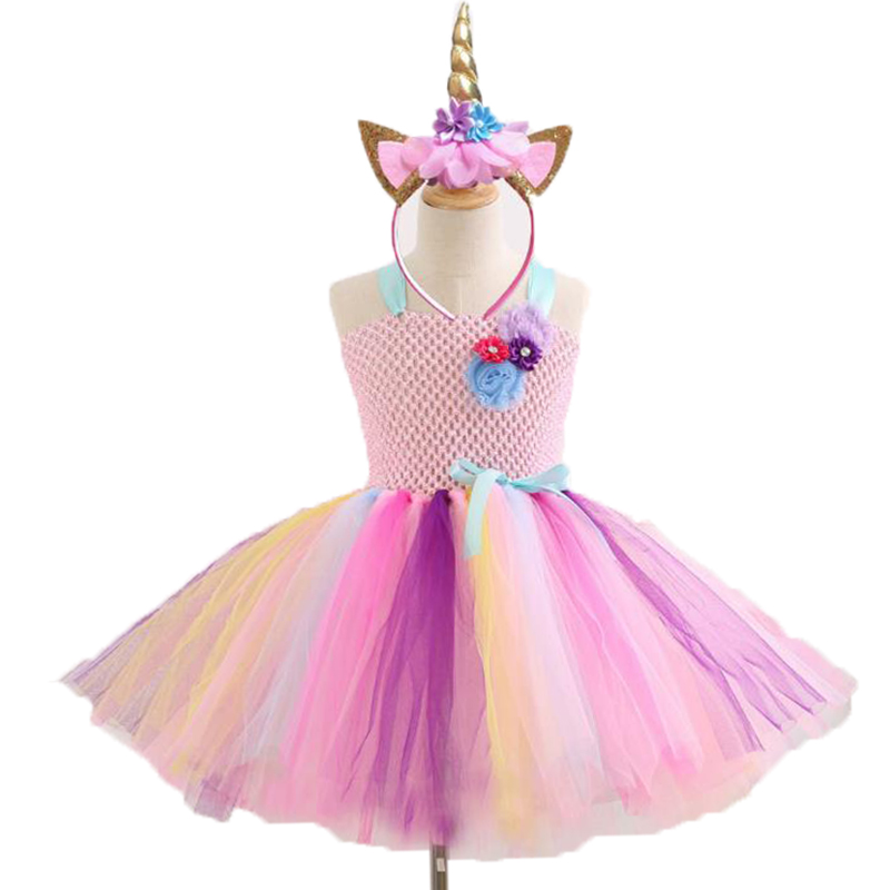 My Baby Girls pony Halloween Cosplay Dress Children little Pony Dresses Cartoon Vestidos Costume Kids Clothes Summer Clothing summer my baby girl fashion cotton dress children clothing girls little pony dresses cartoon princess party costume kids clothes