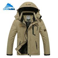 530306f6a Warm Mens Winter Windstopper Outdoor Camping Hiking Jacket Men Water  Resistant Fishing Jaqueta Masculino Climbing Skiing Coat