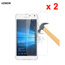 2pcs For Nokia Lumia 650 Premium 2.5D Tempered Glass Screen Protector For Nokia Microsoft