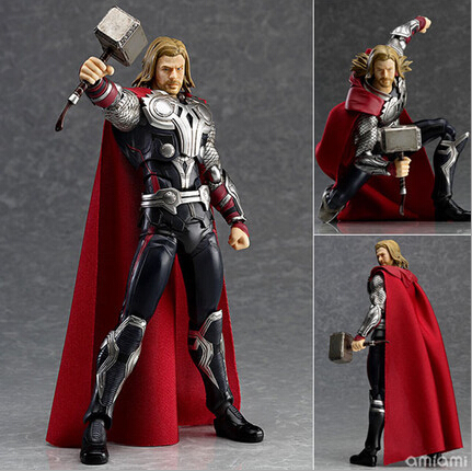 NEW hot 16cm avengers Super hero thor movable action figure toys collection christmas toy doll with box new hot 17cm captain america civil war avengers super hero movable collectors action figure toys christmas gift doll with box