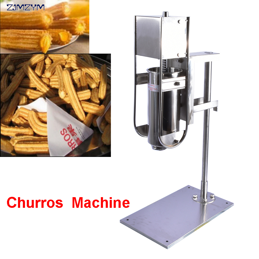 CH-5LB churros machine manual churro maker Fried dough sticks 5L churros machine maker 5l electric spain churros machine fried dough sticks machine spanish snacks latin fruit machine churros maker