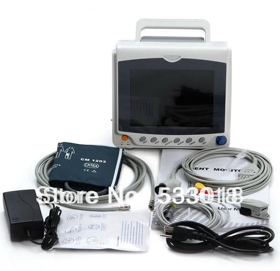 все цены на 2018 CONTEC New CMS6000C Vital Sign with ECG NIBP SPO2 PR 3Y Warranty Multiparameter ICU Patient Monitor онлайн