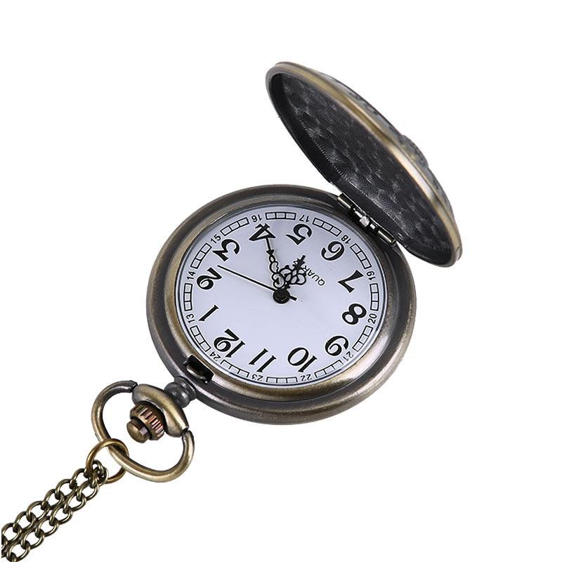 Hot Koop Vrijheidsbeeld Ontwerp Pocket & Fob Horloge Dames - Zakhorloge - Foto 5