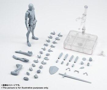 14 cm mobile femme homme corps KunAction Figure jouets Anime figure poupée dessin Mannequin bjd artiste peinture corps modèle poupées