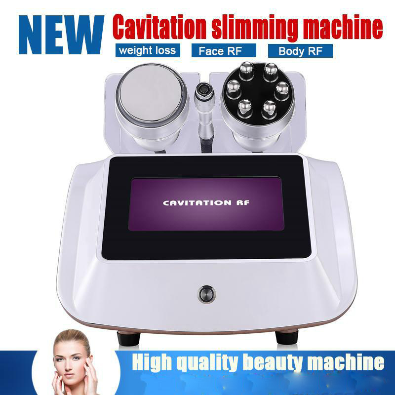 3 In 1 40KHZ Cavitation Machine Strong Power Ultrsonic Slimming Equipment For Fat Burning Cellulite Removal Machine