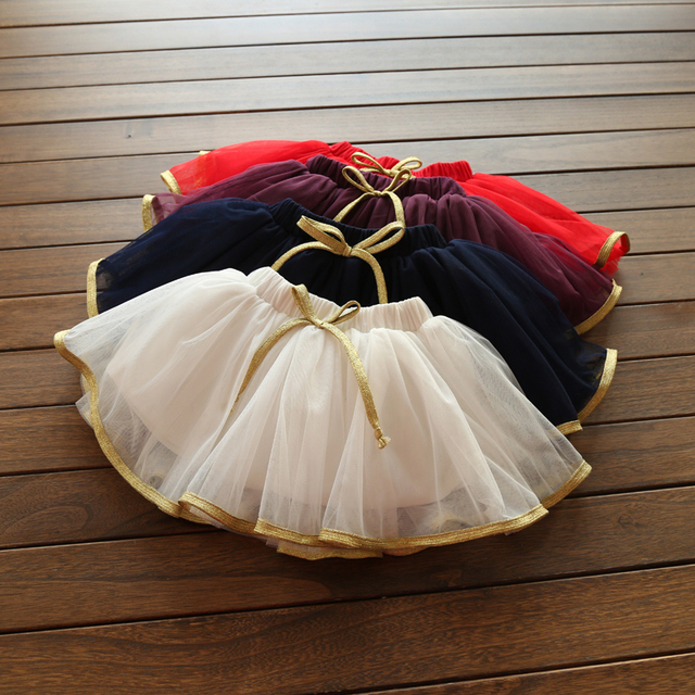 Детские весной 2017 девушки юбки Пномпене Корейской версии новых детей дети марлевые юбка qz-4167