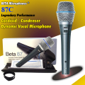 High Quality BETA87A BETA 87A Karaoke Vocal Wired Cardioid Dynamic Microphone Mike Mic For BETA87C BETA 87C  BETA 87 Microfone