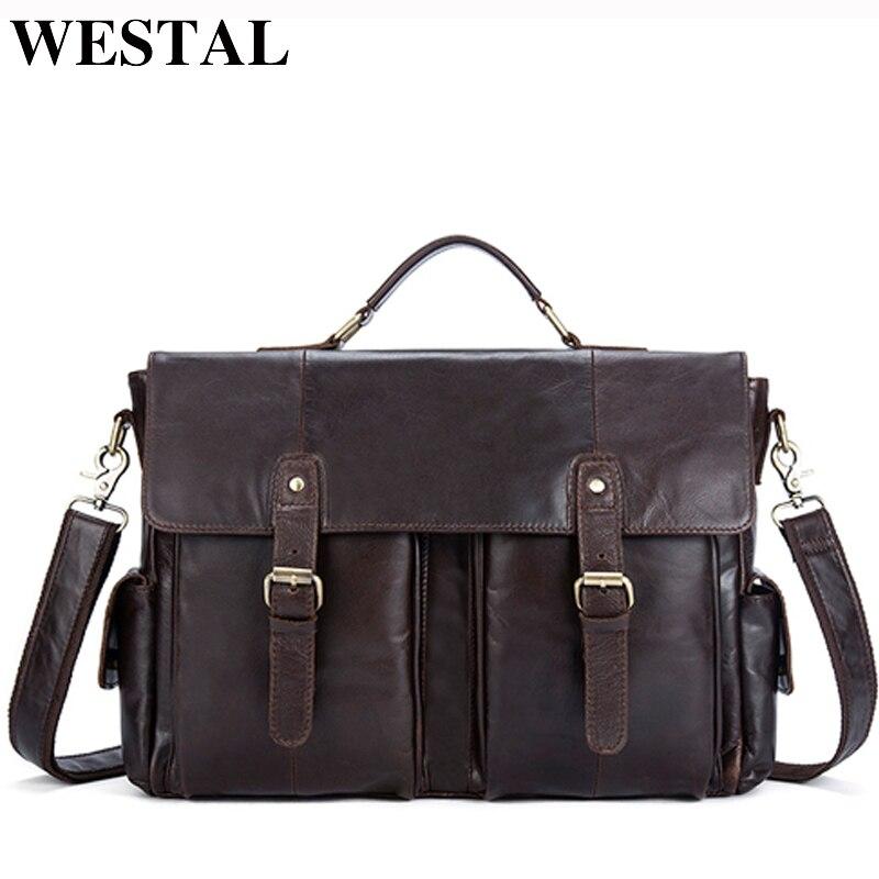 77a1dbe2c837 WESTAL сумка мужская натуральная кожа мужская сумка через плечо сумки  мужские портфель клатч сумочка сумки на