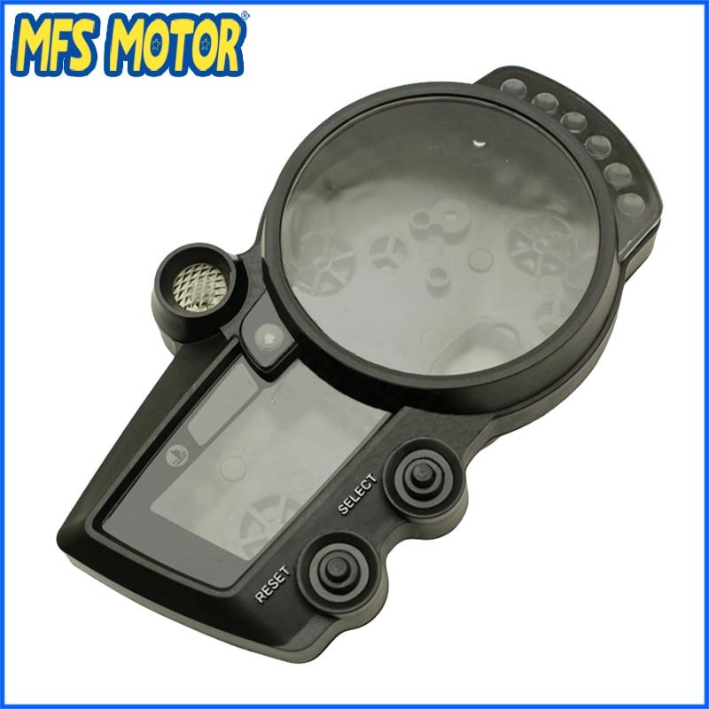 Motorcycle Speedo Meter Gauge Tachometer Clock Case Cover for Yamaha YZF1000 R1 2002 2003 YZF600 R6 2003-2005 benetech digital film coating thickness gauge 0 1800um 0 01mm resolutiongm210 digital paint film iron base thickness gauge meter