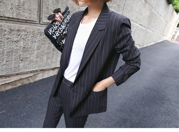 Ufficio Retro Wanita : Womens business suit 2018 new style british retro fashion casual
