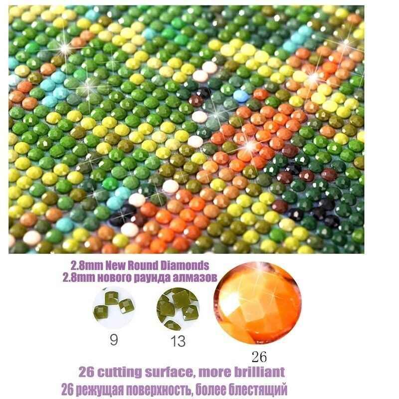 5D DIY elmas nakış mozaik orkide orkide tam elmas boyama çapraz dikiş taklidi bulmaca el sanatları tatil ev FR424