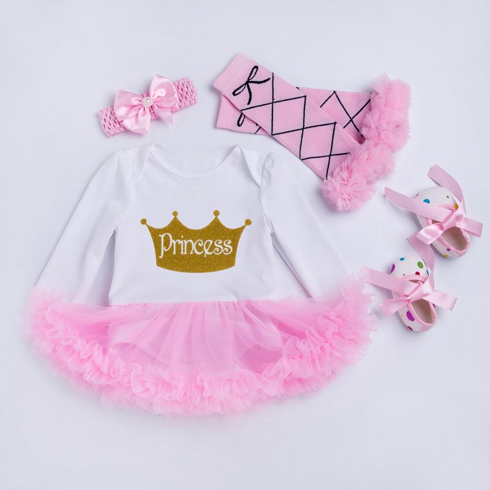 YK & Loving Födelsedag baby kläder Flickor Princess Party Lace Tutu - Babykläder