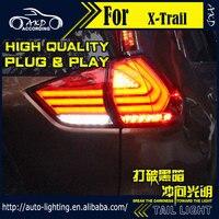 AKD Auto Styling Staart Lamp voor Nissan x-trail Achterlichten 2014 Rouge LED Achterlicht Signaal LED DRL Stop Achterlicht Accessoires