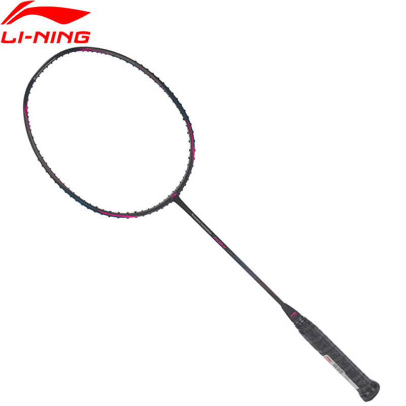 Li-Ning 2018 Turbo Charging N9 II Badminton Rackets Single Racket Professional Equipment Carbon Fiber Li Ning Rackets AYPL178 li ning professional badminton rackets carbon offensive type brazil 2016 single racket aypl102 zyf113