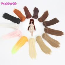 Wholesales MUZIWIG High Temperature Fiber Long Straight Wig for 1/12 Kurhn/Monster Dolls