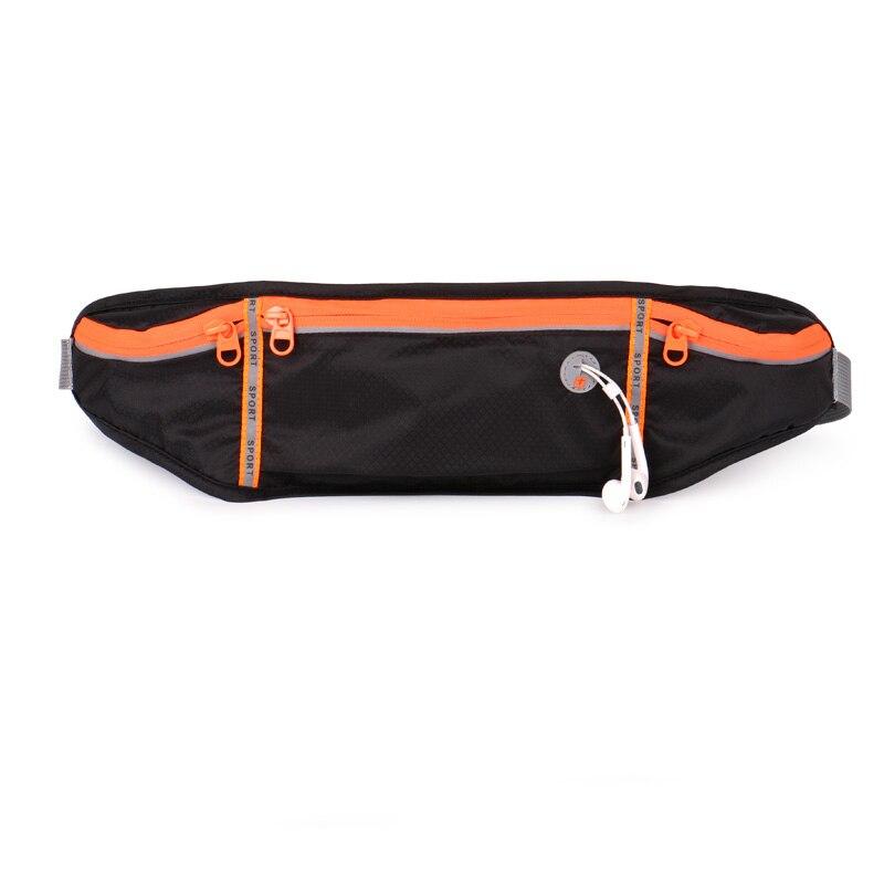 Yipinu 2018 Running Waist Bag Waterproof Reflective Mobile Phone Holder Jogging Belly Gym Bags Fitness Sport Runner Belt