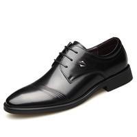 Известный бренд, Прямая продажа с фабрики, новые мужские кожаные туфли в деловом стиле, мужские свадебные туфли с кружевом в европейском и а