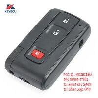Keyecu 스마트 원격 키 fob 3 버튼 toyota prius 2004-2009-mozb31eg 89994-47061 312 mhz
