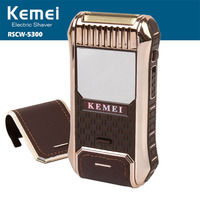 Kemei 2-в-1 бритва для бритья машина машинка для стрижки бороды и усов; бритва для бритья бороды для мужчин barbeador eletrico уход за лицом