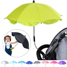 Baby Stroller Umbrella High Quality Parasol Adjustable Clip Sun Visor Outdoor Carriage Car Accessories