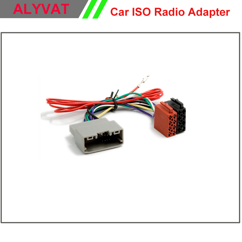 Car ISO Radio Adapter Connector For Chrysler 2008 Dodge 2008 Jeep Wrangler 2007 Wiring Harness car iso radio adapter connector for chrysler 2008 dodge 2008 jeep wire harness connectors at edmiracle.co
