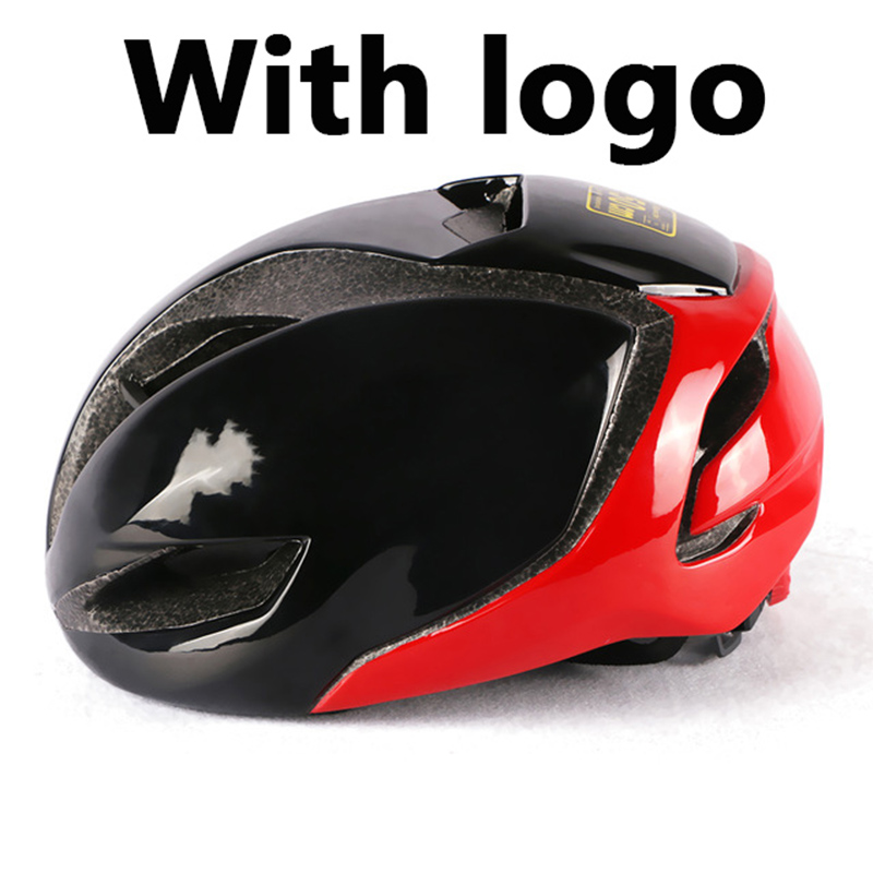 Ultralight safety sports red helmet aviation adult racing equipment bicycle helmet pneumatic road mountain Cycling helmet