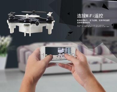 Envío libre WiFi de transmisión en tiempo real de múltiples rotor aviones aérea Mini UAV modelo de juguete
