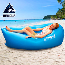 Maximum weight 200kg Camping  Mat Inflatable Mattress For Sleeping Air Bed Beach Picnic Lazy Pad