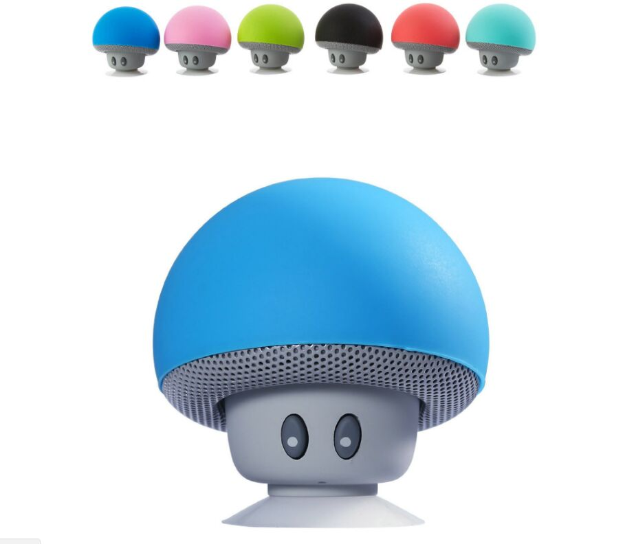 Wireless Mini Bluetooth Speaker Portable Mushroom Waterproof Stereo Bluetooth Speaker for Mobile Phone iPhone Xiaomi Computer