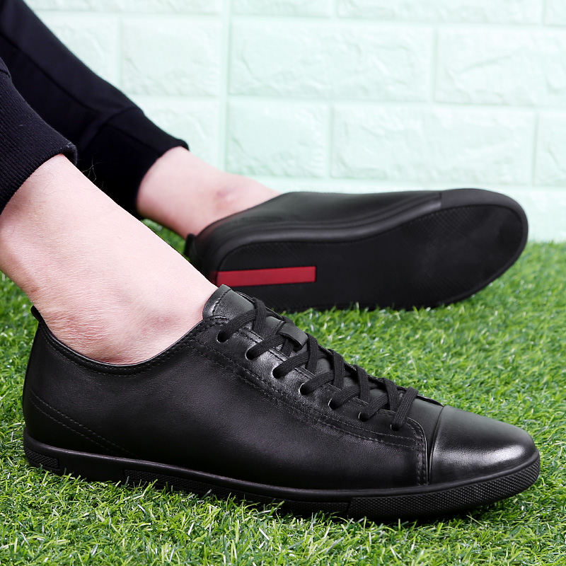 Big Size 47 Men Shoes Genuine Leather Breathable Male Loafers Man Driving Casual Shoes Lace Up Soft Footwear Male Krasovki Shoes