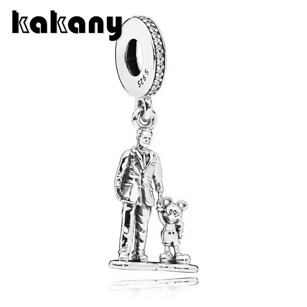 KAKANY 100%925 sterling silver Family heritage Fathers love Fashion necklace pendant Original DIY jewelry Classic vintage KAKANY 100%925 sterling silver Family heritage Fathers love Fashion necklace pendant Original DIY jewelry Classic vintage