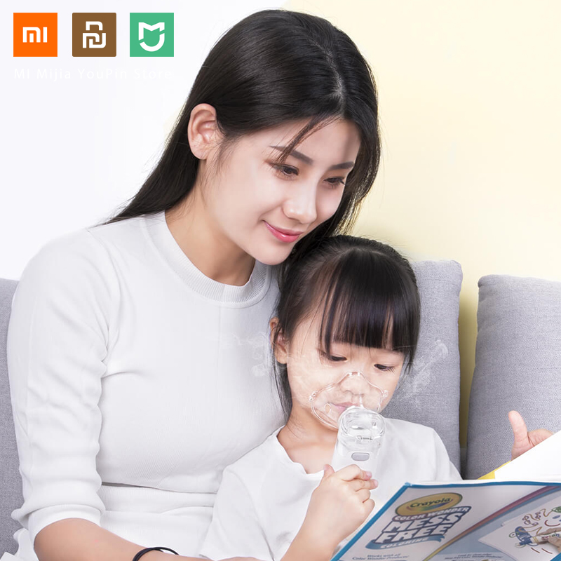 Xiaomi Mijia Jiuan Andon Portable Micro Atomizer Nebulizer Mini Handheld Inhaler Respirator For Children And Adult
