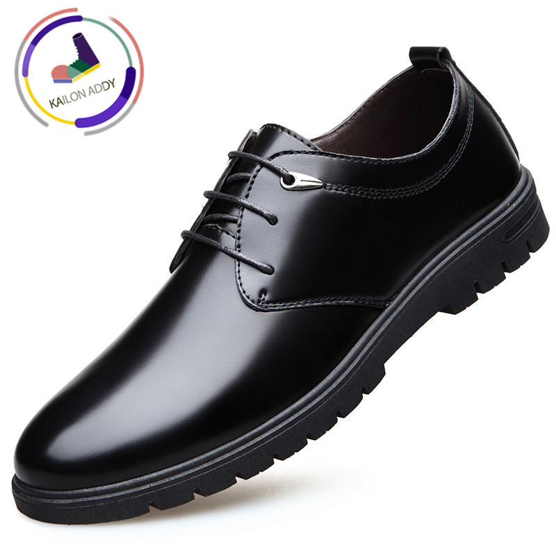 Formal Shoes New Fashion Kailon Addy 2019 Men Dress Shoes Classic Tassel Brogue Oxford Shoes British Style Leather Loafers Soft Flats Wedding Formal Distinctive For Its Traditional Properties Men's Shoes