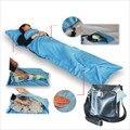 Pongee Sleeping Bag 210X70 cm Individuais de Viagem ao ar livre Saco de Dormir Isolado Coisas Sujas No Hotel SP002
