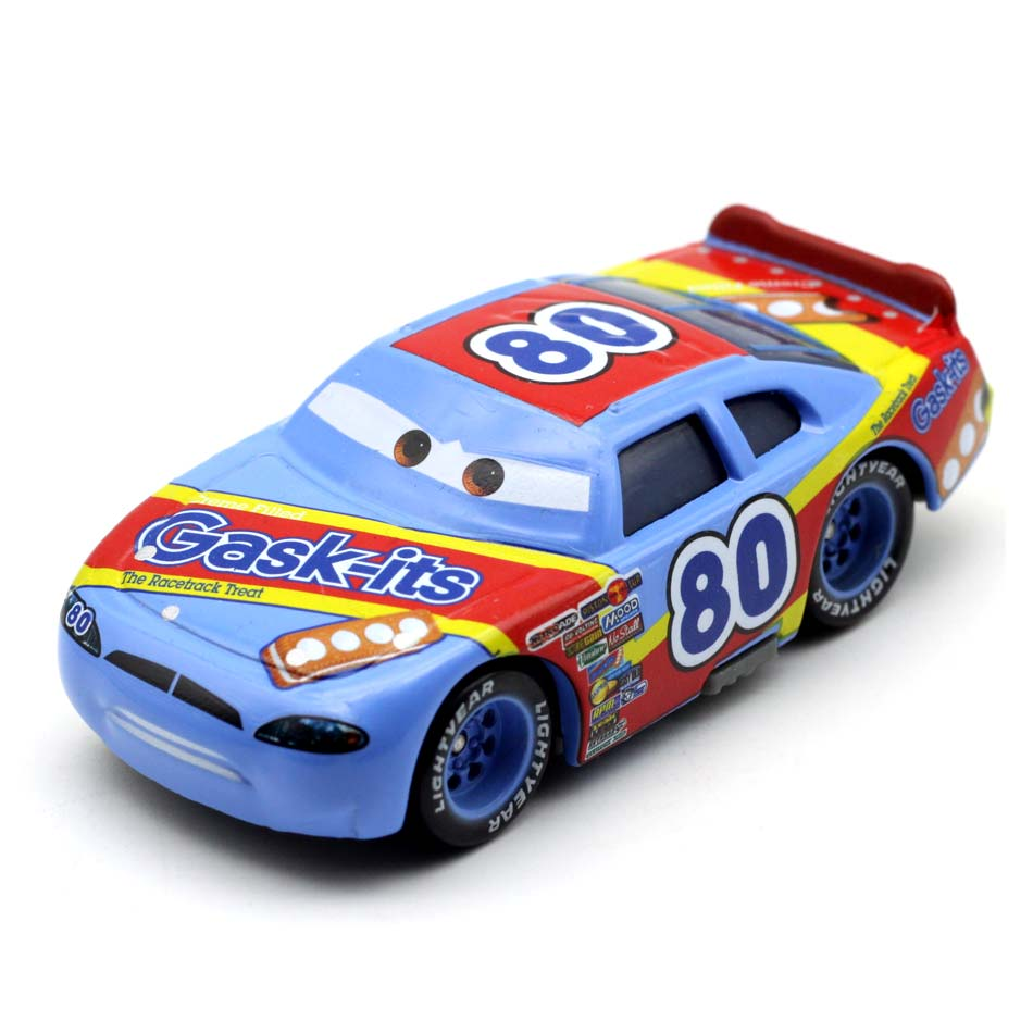Disney Pixar Cars 3 1:55 Role No.80 Weathers Lighting McQueen Diecast Metal Car Model New Year 2018 Best Gifts For Boys Kids