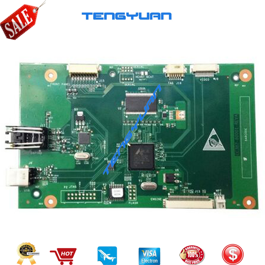 Free shipping 100% test  for HP P2014N Formatter Board CC382-60001 printer parts on sale formatter pca assy formatter board logic main board mainboard mother board for hp m775 m775dn m775f m775z m775z ce396 60001