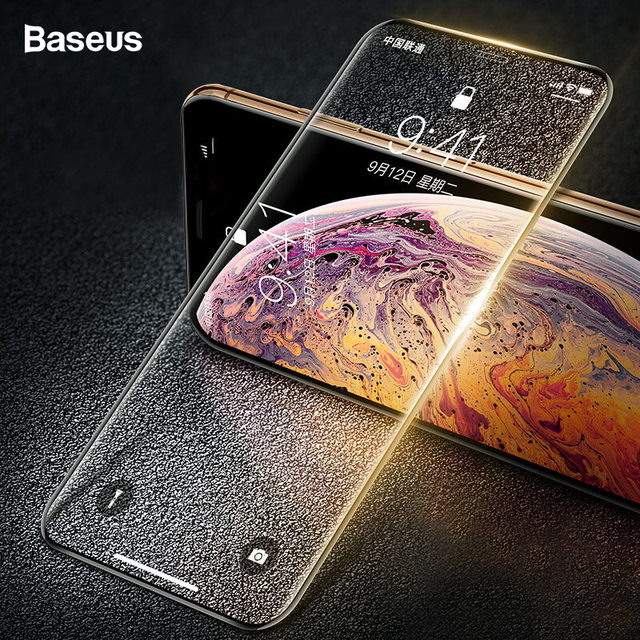 Baseus iPhone XS Xr XS Max 0.2mm Tempered Glass Screen Guard Protector