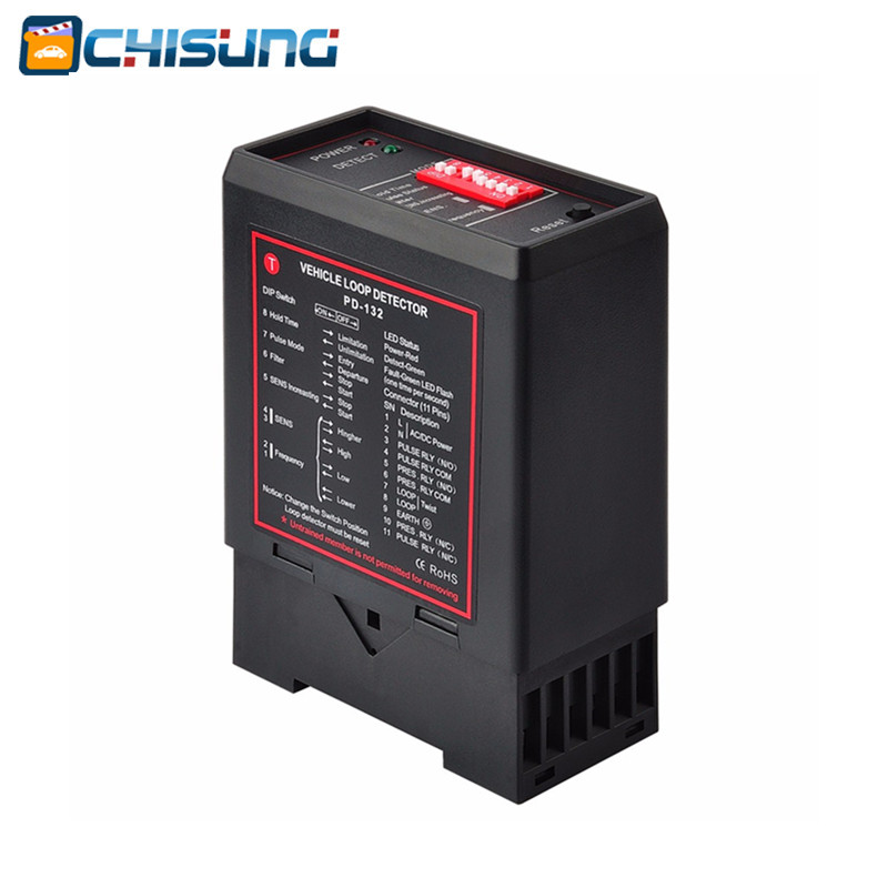 PD132 Inductive Vehicle Loop Detector For Car Parking