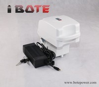 Portable type electric bike batterie 14ah 48V li polymer battery 750W with plastic case 20A continuous current